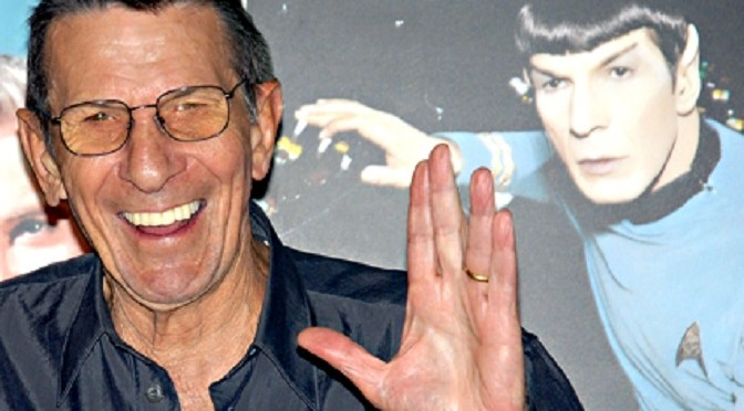 Live Long and Prosper, Mr. Nimoy